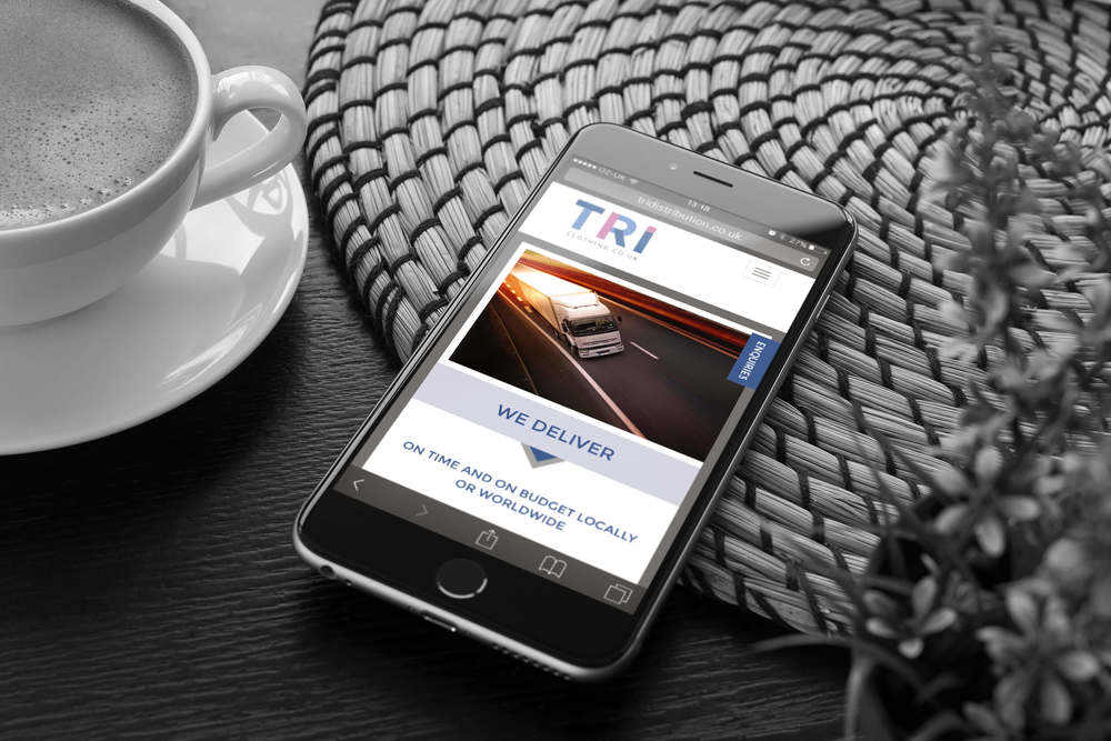 A mobile friendly website design by Create Onsight, Coventry