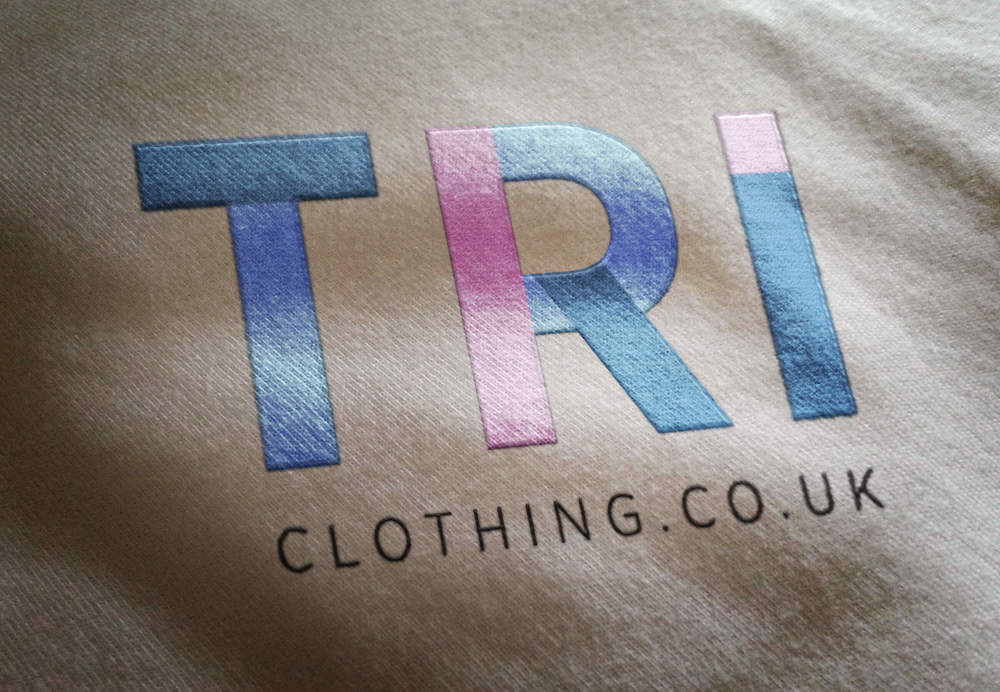 TRI Clothing new company logo