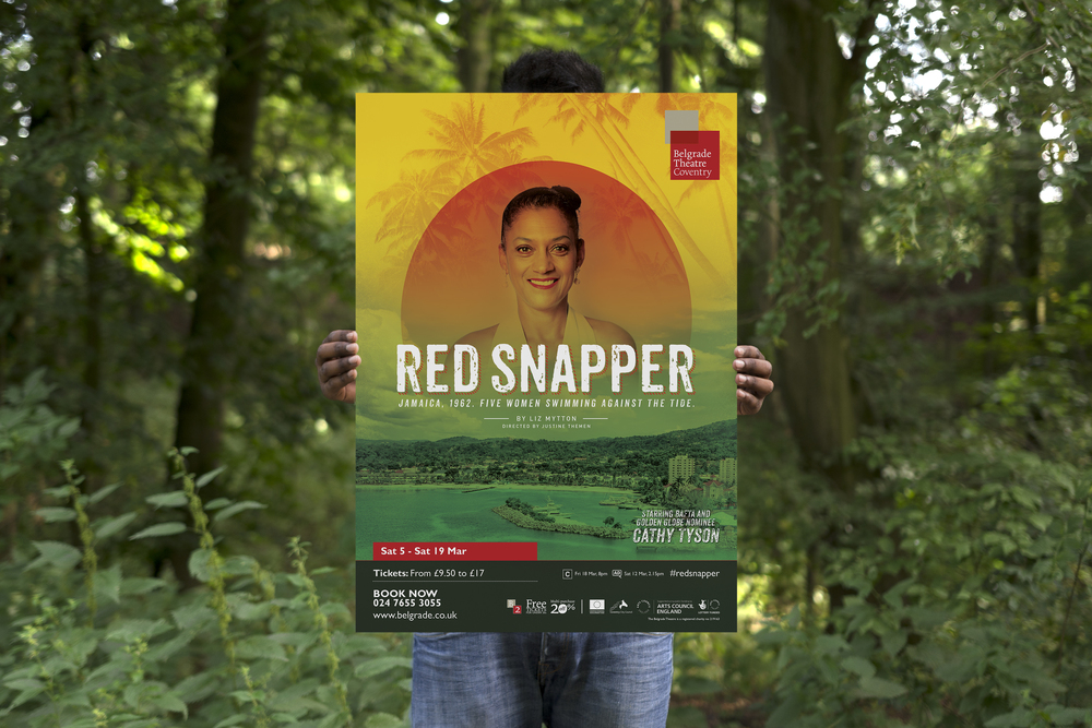 Red Snapper graphic design for Belgrade theatre