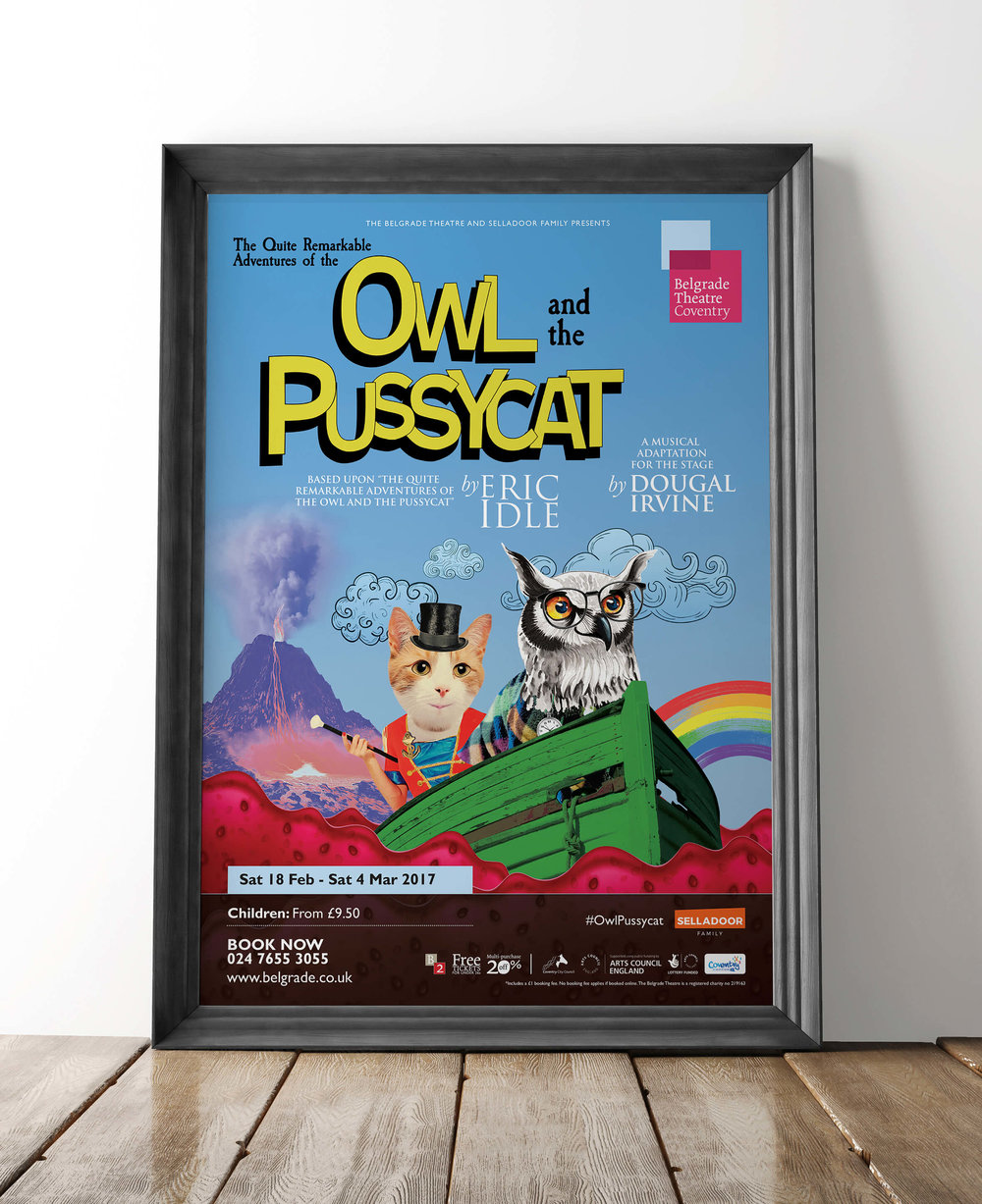 The Quite Remarkable Adventures of the Owl and the Pussycat artwork