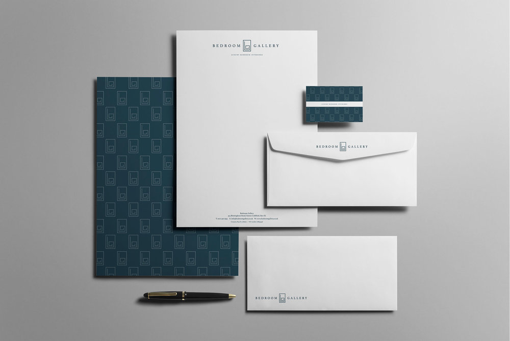 Stationery design - letterheads, compliments slips, envelopes and business cards