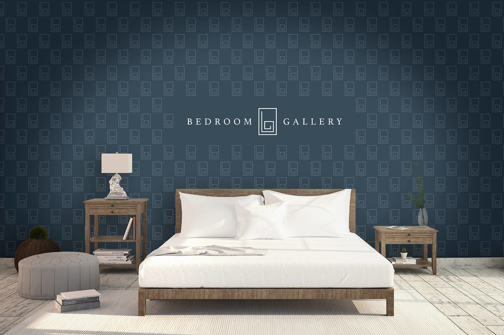 Branded wallpaper design