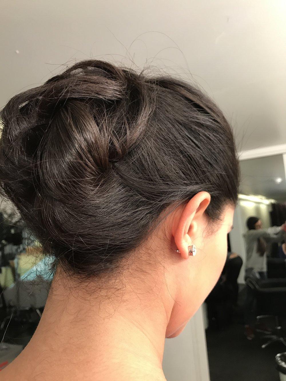 My hair up do, on Rosie_fawehimi