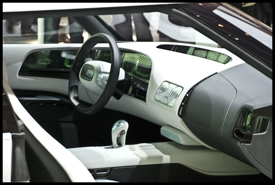 SAAB concept interior