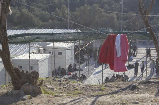 Registration in Moria, Lesvos, November 2015