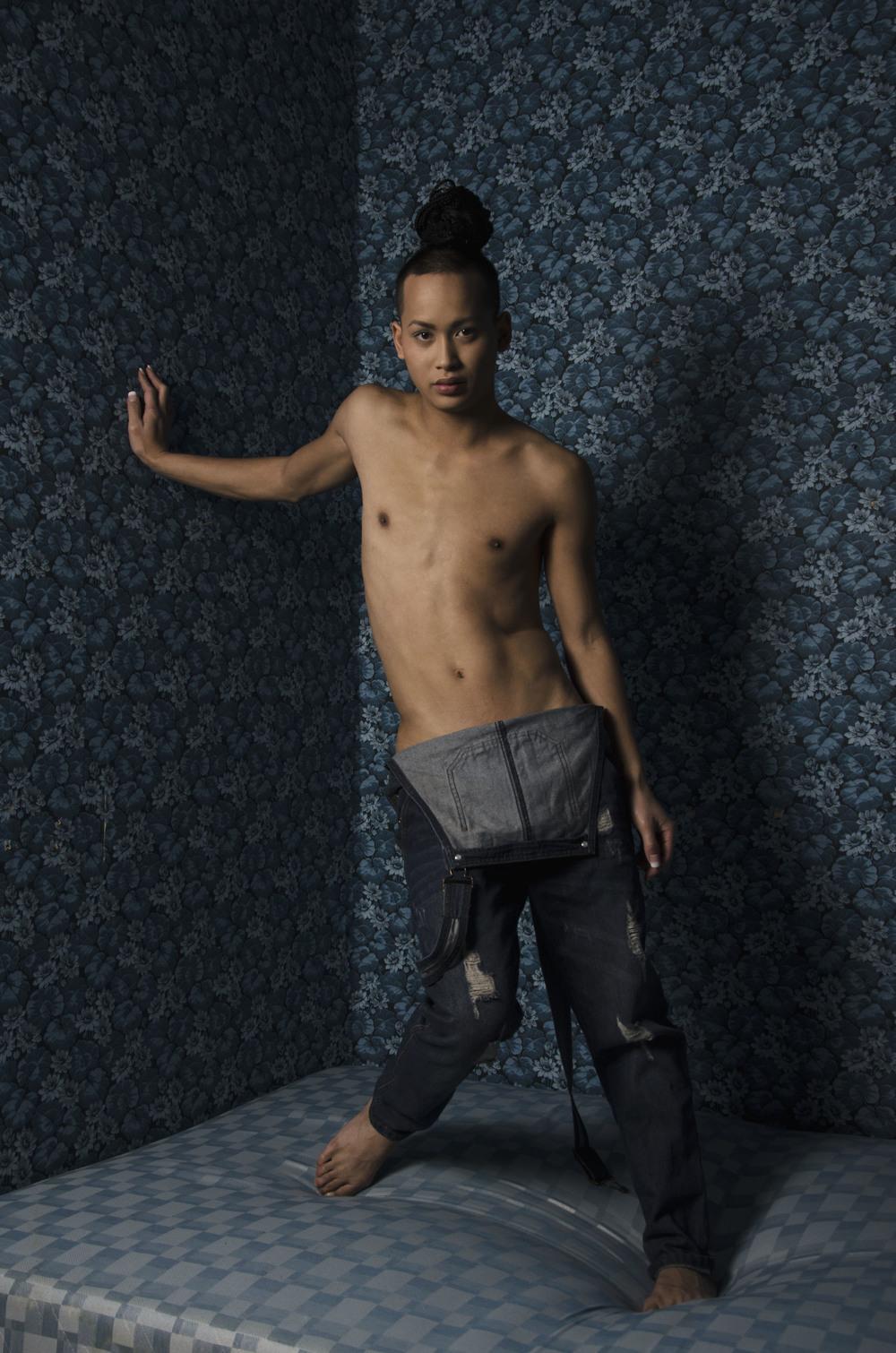 Model: Jay Snellman  MUAH: Jay Snellman