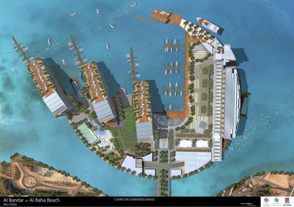 masterplan of island