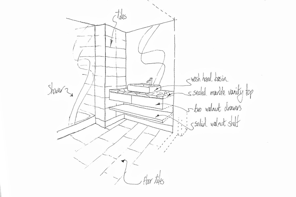 my design concept for all bathrooms