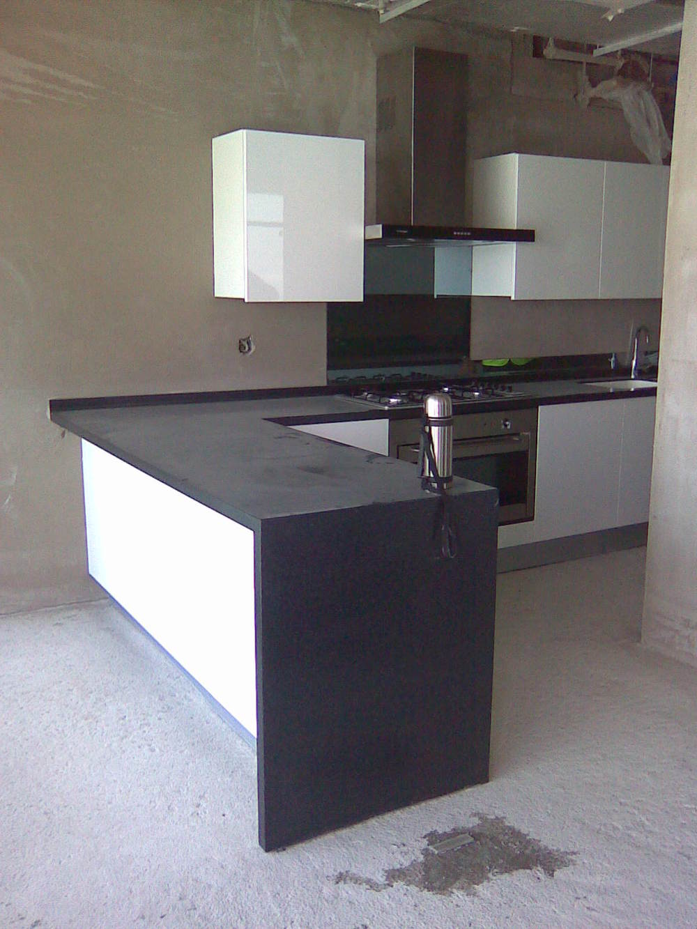 approved kitchen test installed on site