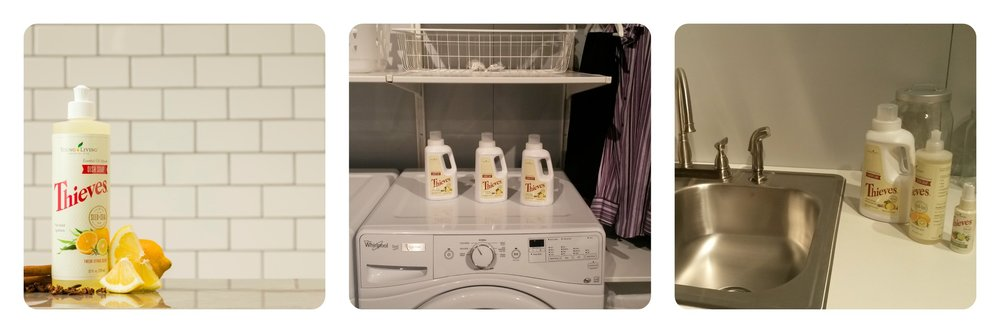 THIEVES® DISHWASHER SOAP AND LAUNDRY DETERGENT