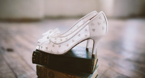 The beautiful belle shoes by Charlotte Mills