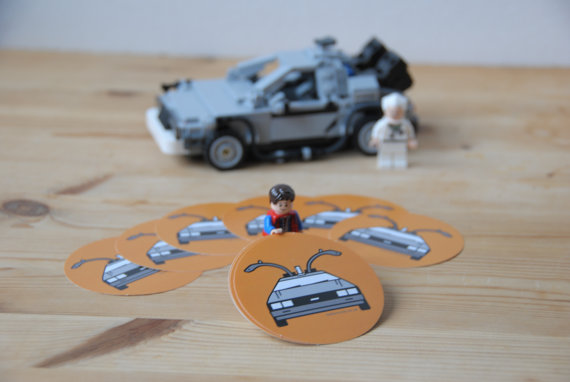 Back to the Future 'Delorean' Stickers - £3 plus shipping -  click here