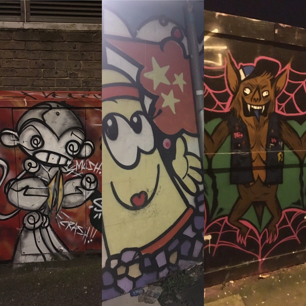 Street Art on way back from Brighton Bricks
