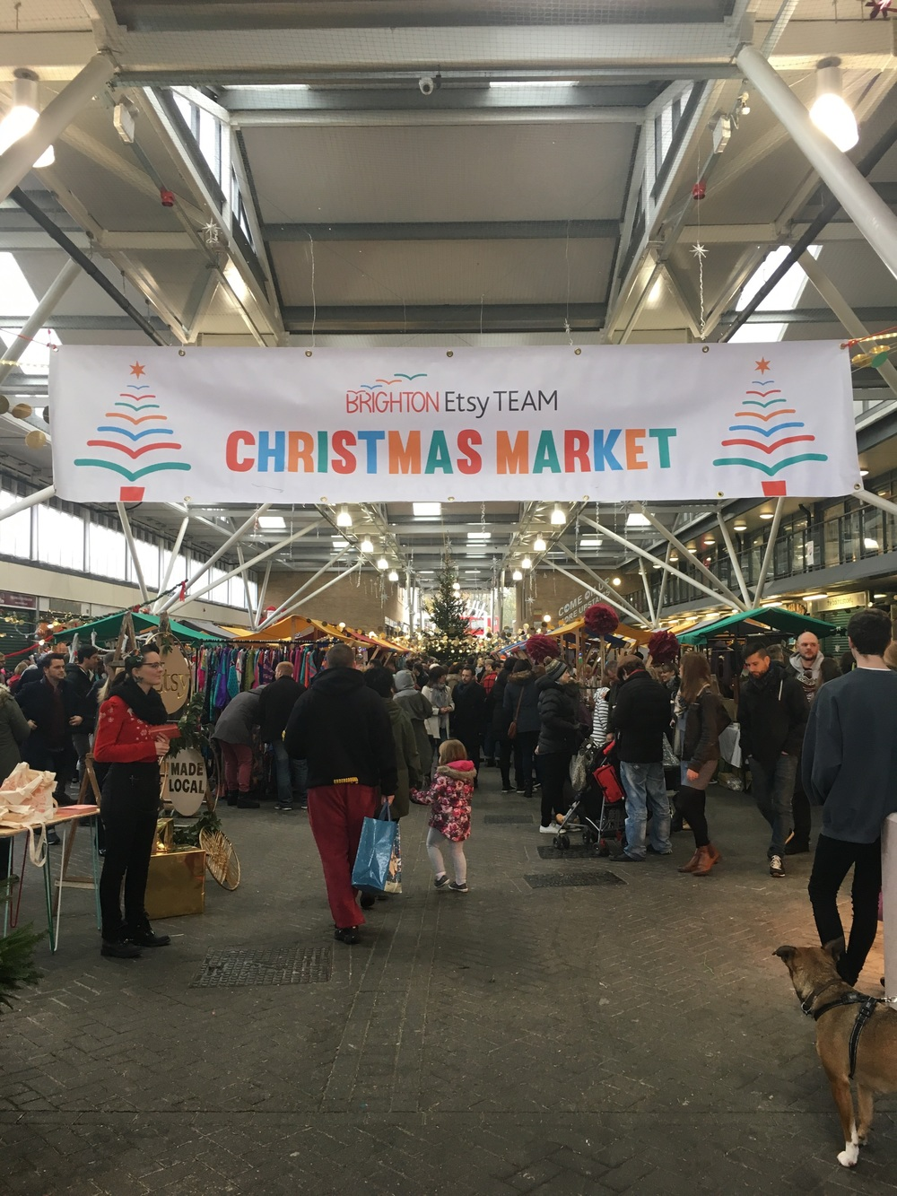 Brighton Etsy Christmas Fair at Brighton Open Market