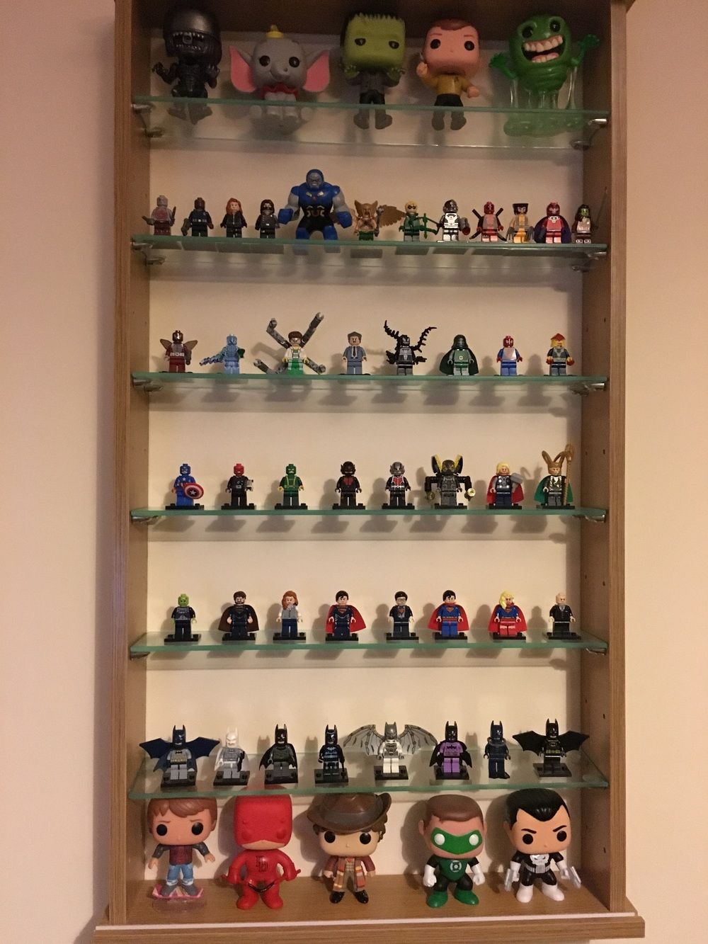 November Lego Minifigure Display