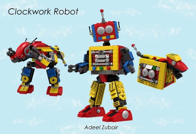 Clockwork Robot