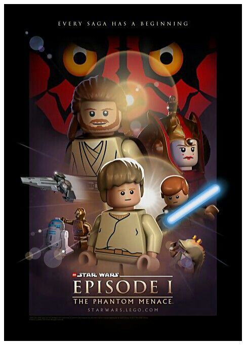 Lego movie posters not the lego movie but movies posters - Lego star wars 1 2 3 4 5 6 ...