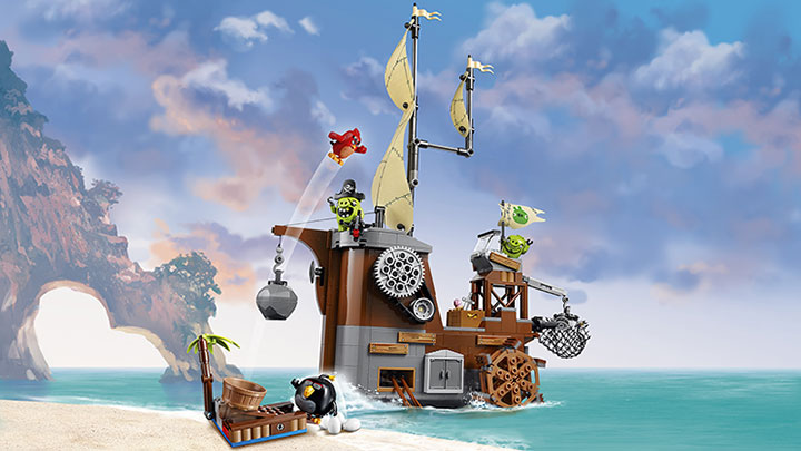 Piggy Pirate Ship (75825) – £59.99