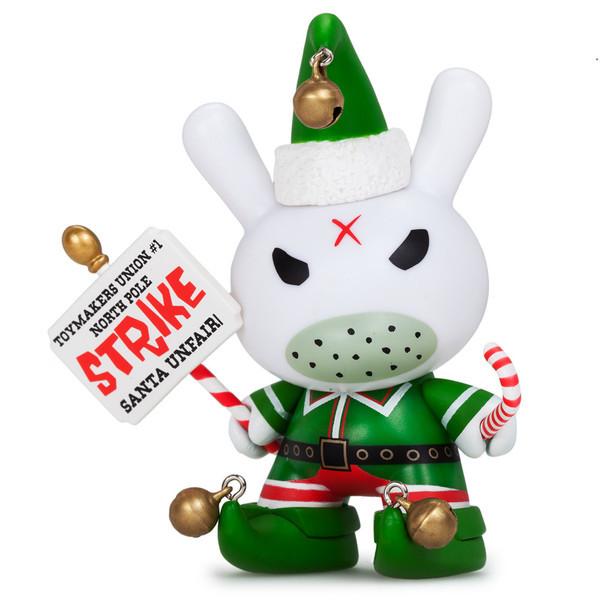 "Kidrobot - 3"" Holiday Grumpy Elf Dunny - £16"