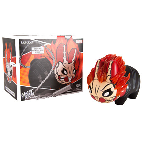 "Kidrobot - 7"" Marvel Labbit Ghostrider - £34"