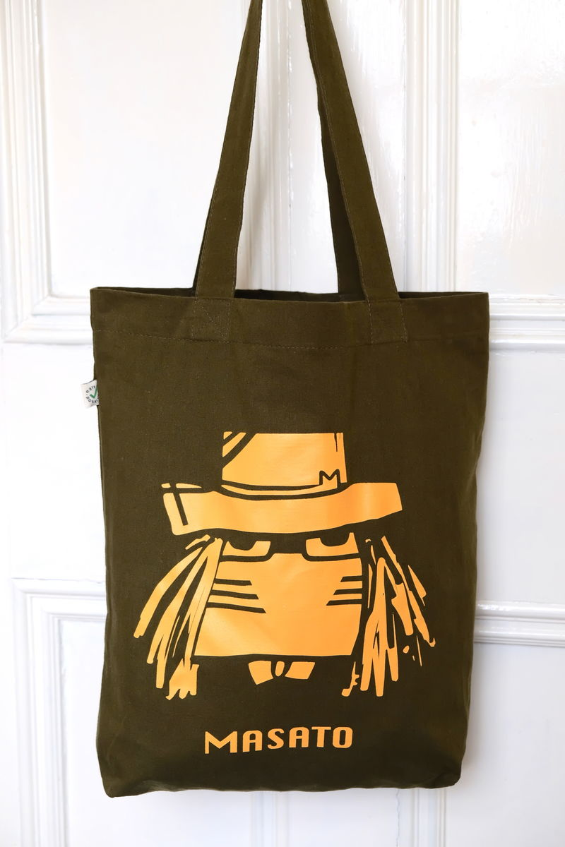 Dr M Moss Green Tote Bag  £15