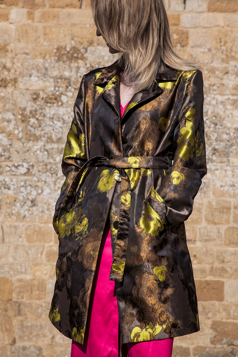 Gold Rained Flower Coat  £329