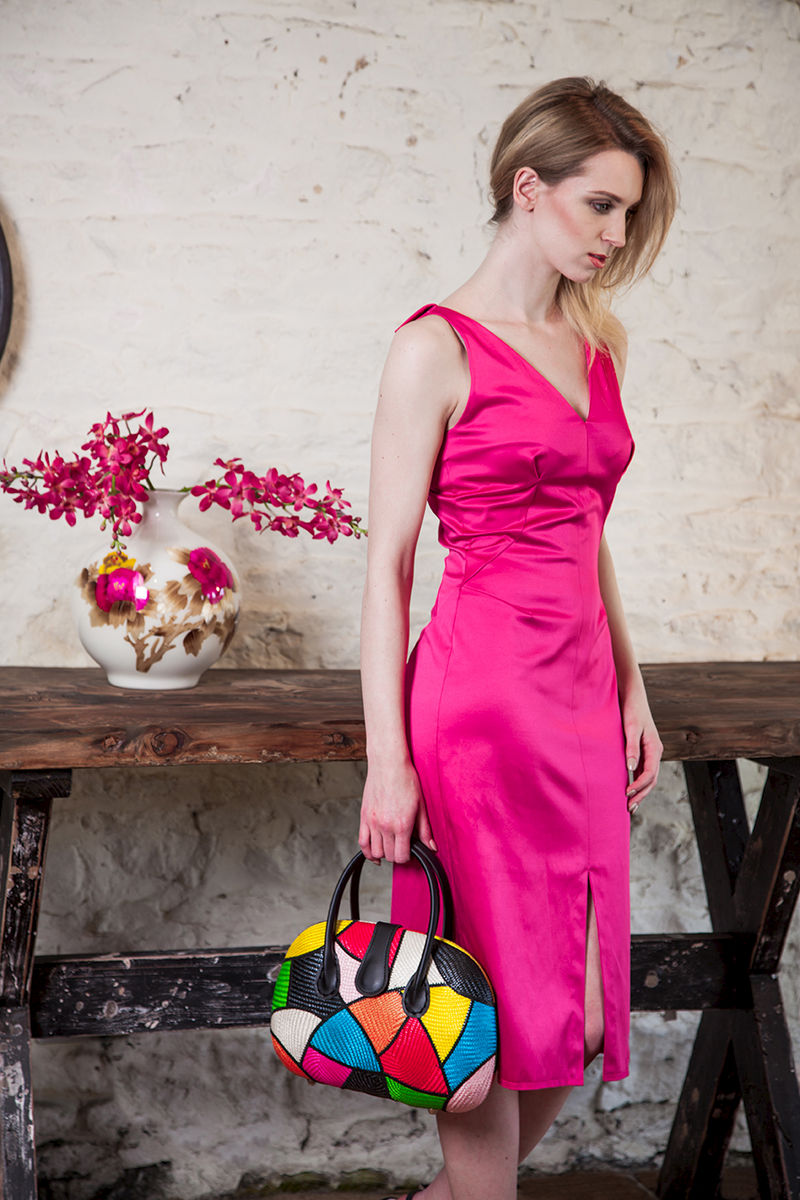 Fuchsia Dress  £279