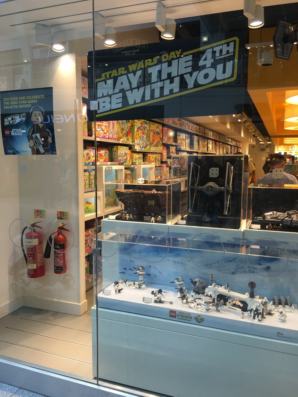 It was May The Fourth Be With You Lego Star Wars promotion