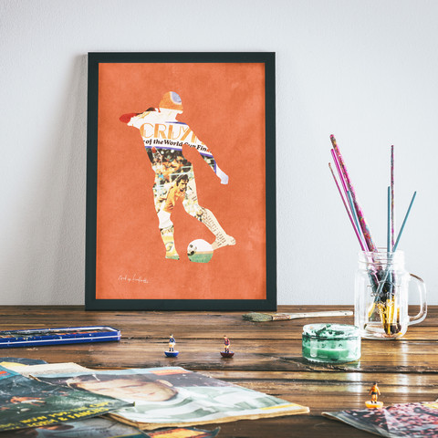 Johan - Print via  Art of Football