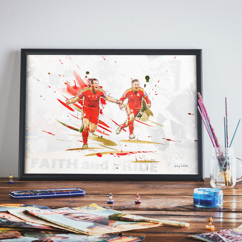 Enter The Dragon - Print or Canvas via  Art of Football