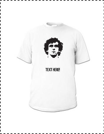 Michel Platini T-Shirt via  Cult Zeroes