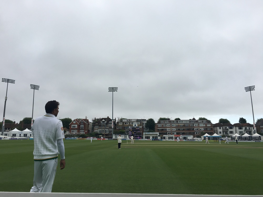 Sussex v Pakistan, day 2 at Hove