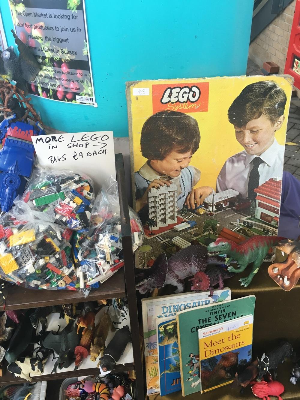 Old Lego found in Brighton Open Market