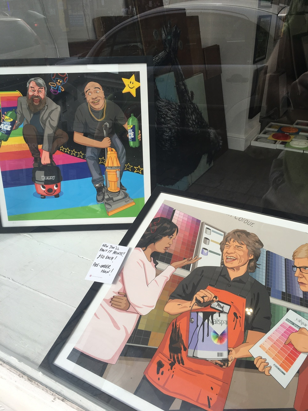 Jim'll Paint It at Prescription Gallery