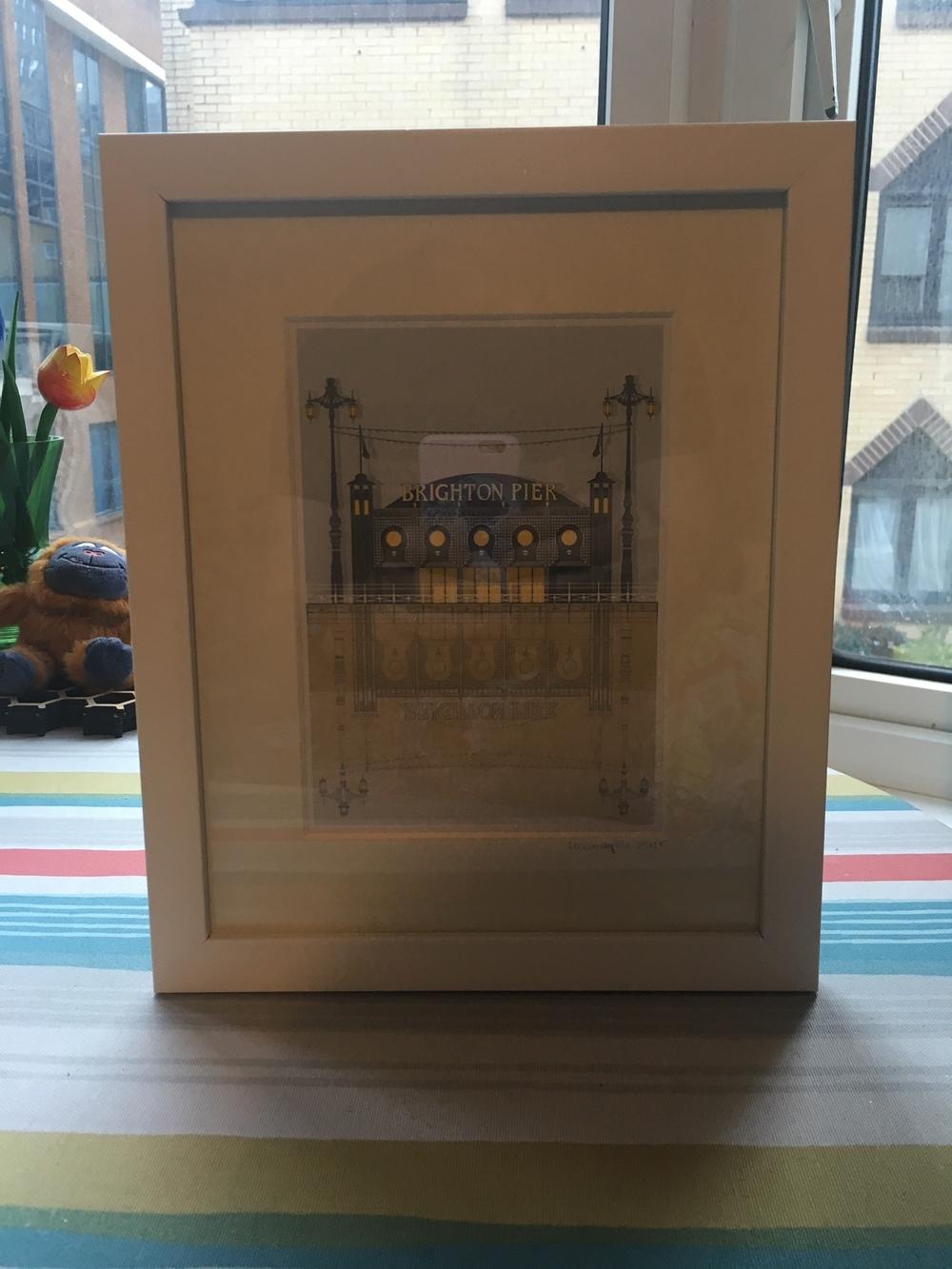 Linescape UK - Brighton Pier Print