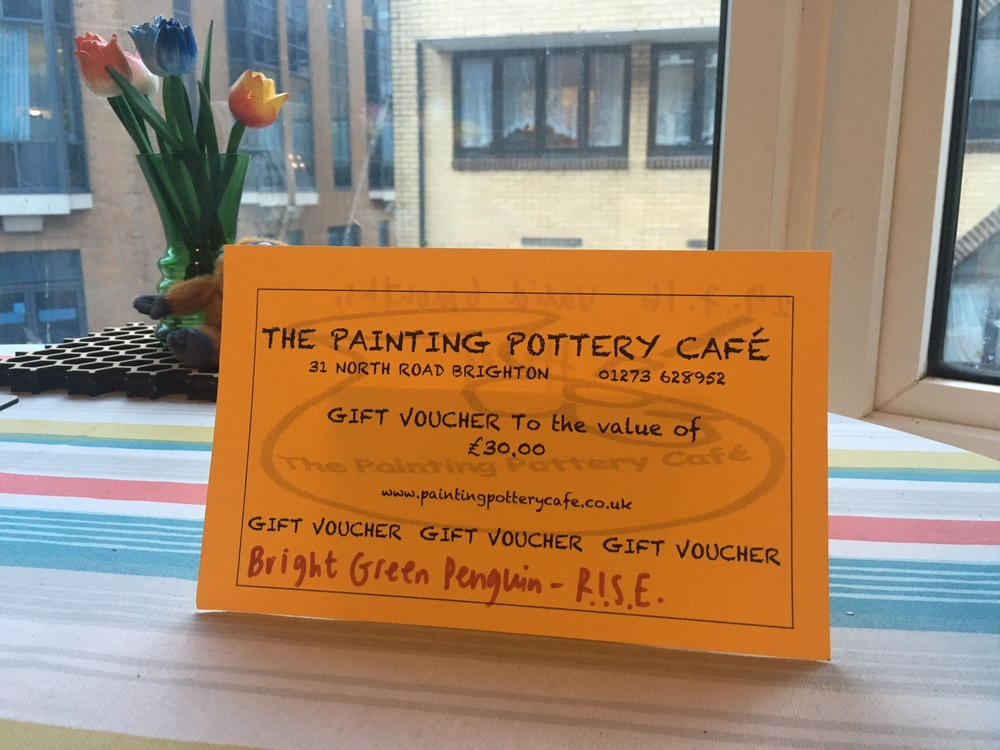 The Painting Pottery Cafe - Gift Voucher