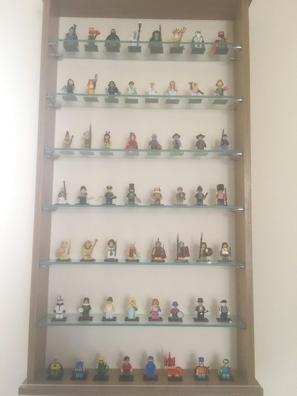 My Lego display