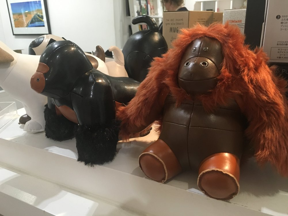 Doorstops I saw in a London shop