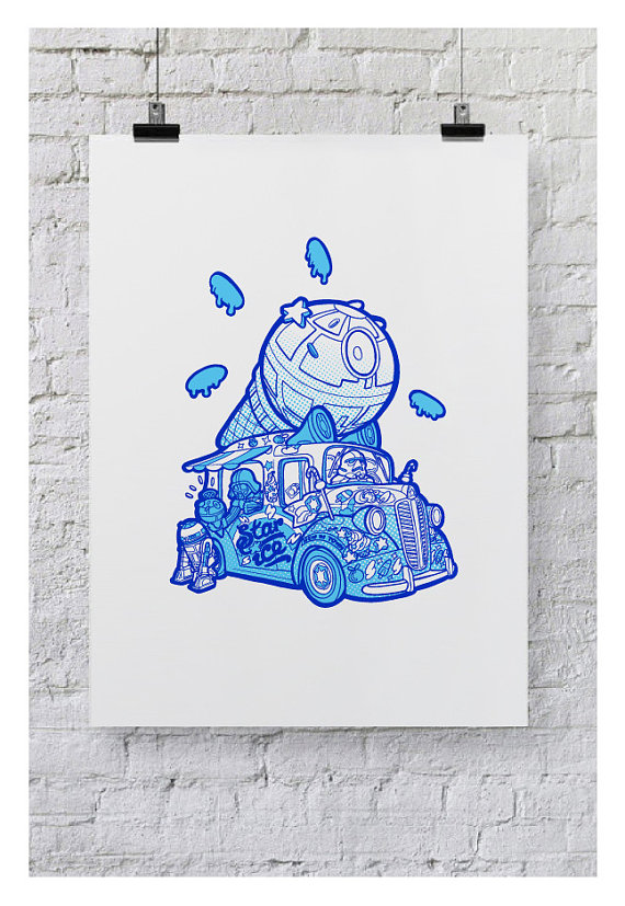 Bea Toa - Star Ice Limited Edition Print