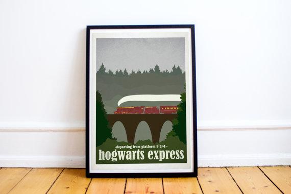 Harknett Prints - Hogwarts Express