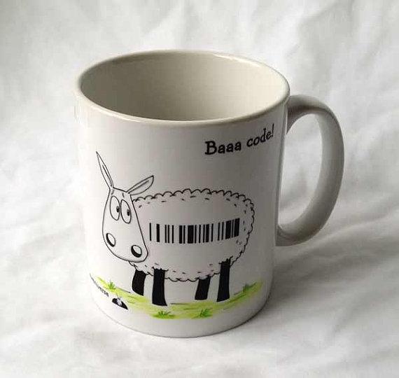 Eweniverse - Baaa Code! Mug