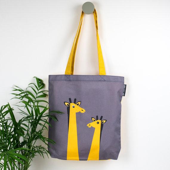 Laura Danby - Giraffee Tote Bag