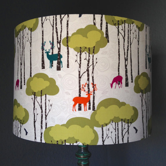 Bird and the Button - Scandi Lamp