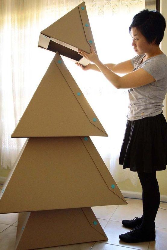 30 Creative Christmas Tree Decorating Ideas - via  Styletic