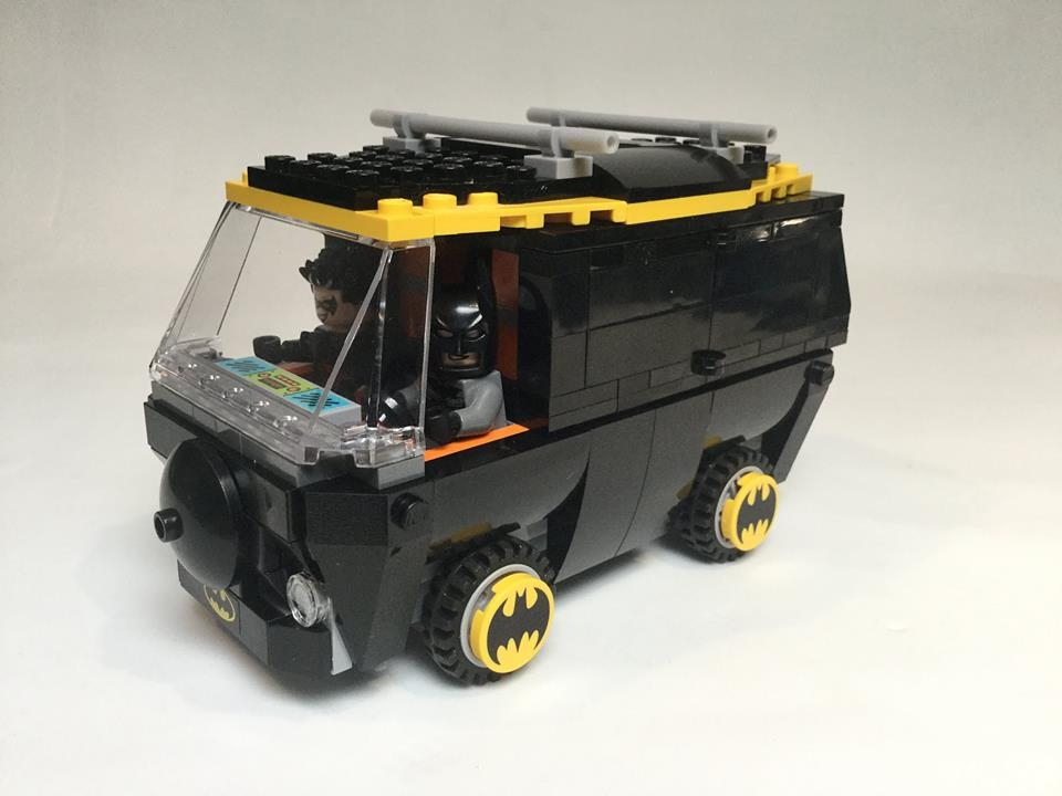 Bat Mystery Machine - Steve Reynolds