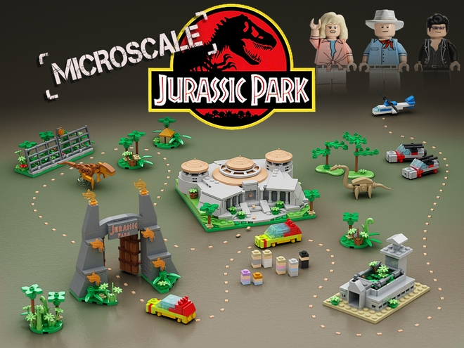 Microscale Jurassic Park   As of 19/2/17 7936 supporters, 130 days left   Read More