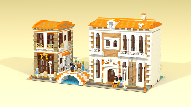 Perfect for an modular city.  Read More
