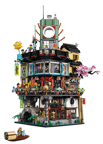 An amazing looking set, which would look great in any Lego City, amongst other modular buildings