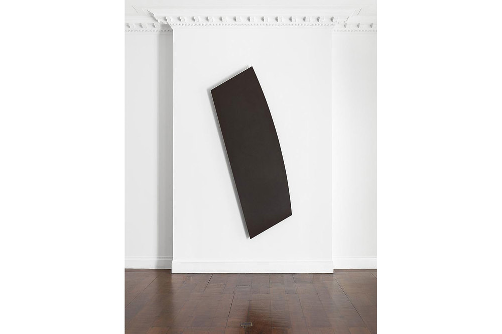 Ellsworth Kelly, Black Shape from the Mnuchin Gallery Singular Forms 1966-2009 exhibition (2013).