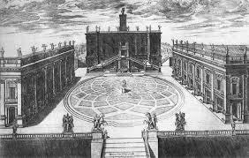Etienne Duperac, Piazza del Campidoglio, 1567-59